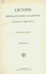 Za godinu 1928/29. Sv. 42