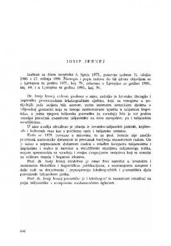 Josip Jernej