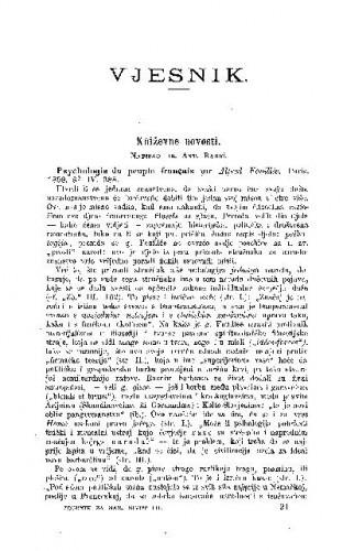 Kńiževne novosti / A. Radić