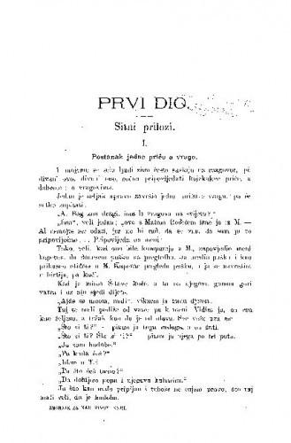 Postanak jedne priče o vragu / J. Božičević