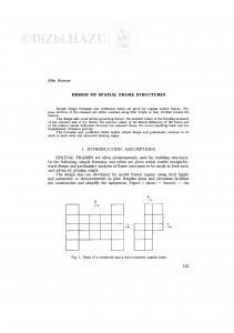 Design of spatial frame structures / R. Rosman