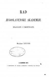 Knj. 28(1874)=knj. 28