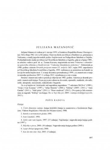 Julijana Matanović