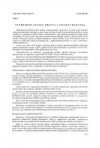 Suvremeni Ivanec : pravci i ciljevi razvoja / Adam Pintarić
