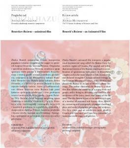 Bourekov Bećarac-animirani film = Bourek's Bećarac-an animated film / Andrija Mutnjaković