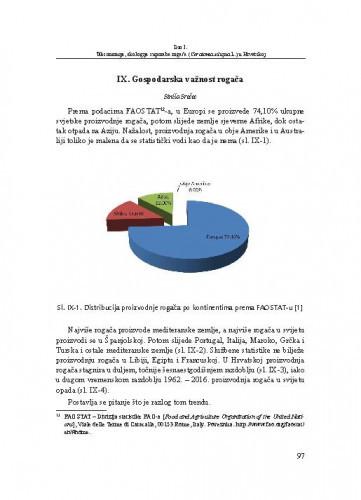 Gospodarska važnost rogača / Siniša Srečec