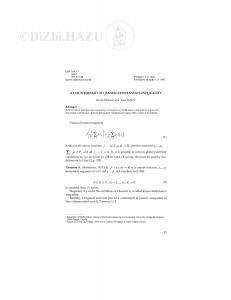 A counterpart to Jensen-Steffensen's inequality / N. Elezović, J. Pečarić