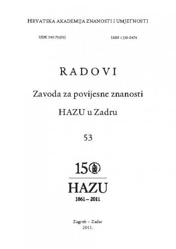 Sv. 53(2011) / glavni i odgovorni urednik Franjo Šanjek ; prijevodi na engleski jezik Gorka Radočaj