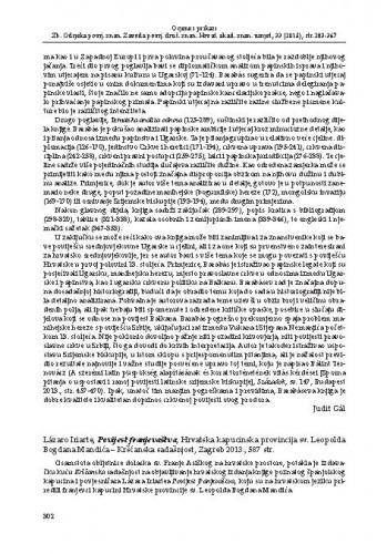 Lázaro Iriarte, Povijest franjevaštva, Hrvatska kapucinska provincija sv. Leopolda Bogdana Mandića - Kršćanska sadašnjost, Zagreb 2013. : [prikaz]