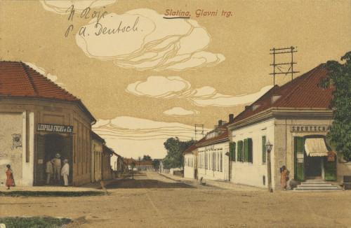 Razglednica Naste Rojc Antunu Ullrichu, Slatina