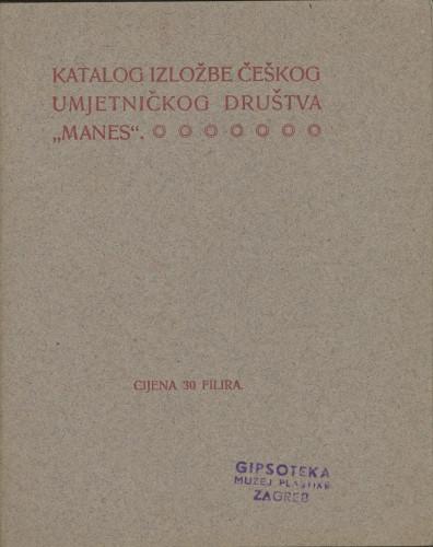 Katalog izložbe češkog umjetničkog društva Manes
