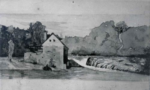 Raškaj, Slava (1877-1906) : Mlin uz Kupu