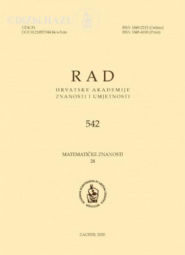 Sv. 24(2020)=knj. 59 / glavni urednik / editor-in-Chief Andrej Dujella