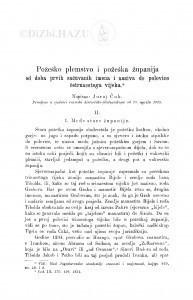 Požeško plemstvo i požeška županija od doba prvih sačuvanih imena i naziva do polovice četrnaestoga vijeka : <II.> / J. Ćuk