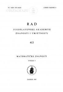 Sv. 4(1985)=knj. 26=knj. 413 / urednik Vladimir Volenec