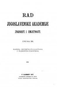 Knj. 102(1927)=knj. 233