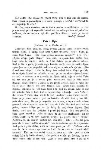 Iz strane glagolske proze : emańi prilozi / R. Strohal