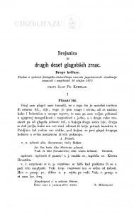 Brojanica ili drugih deset glagolskih zrnac : drugo kolěnce / F. Kurelac