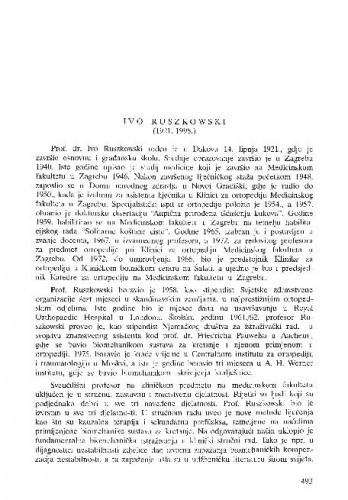 Ivo Ruszowski (1921.-1998.) / Marko Pećina