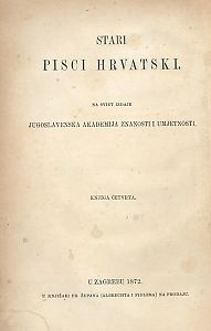 Dio 2 : Pjesni razlike. Pelegrin. Drame / skupili V. Jagić, I. A. Kaznačić i Đ. Daničić