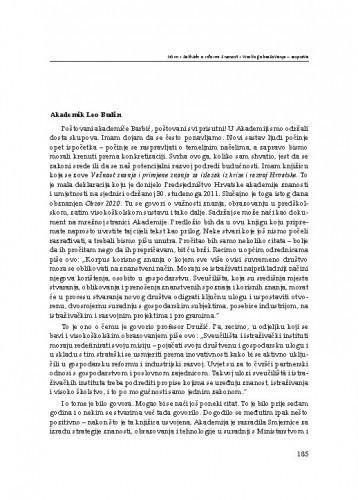 Rasprava / Leo Budin, Vesna Legac, Zlata Đurđević, Branko Brdar, Hana Horak