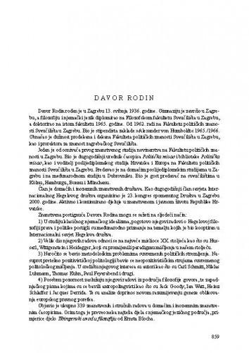 Davor Rodin