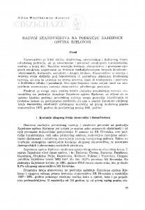 Razvoj stanovništva na području Zajednice općina Bjelovar / Alica Wertheimer-Baletić