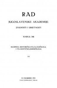 Knj. 111(1933)=knj. 248