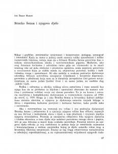 Branko Šenoa i njegovo djelo / Ive Šimat Banov