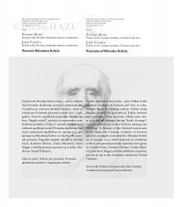 Portreti Miroslava Krleže : Portraits of Miroslav Krleža / Zvonko Kusić, Josip Vaništa