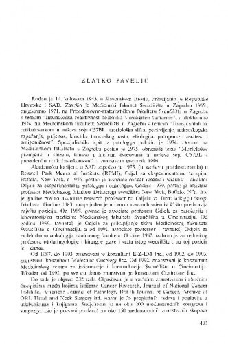 Zlatko Pavelić