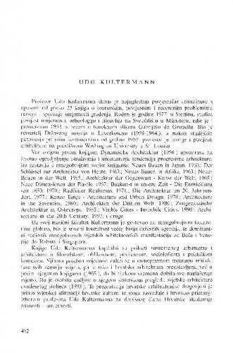 Udo Kultermann