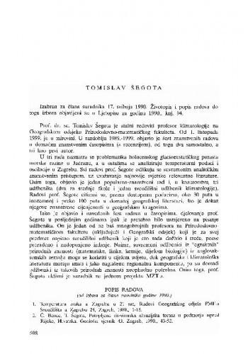 Tomislav Šegota