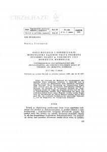 Razlikovanje i određivanje morfološki sličnih vrsta podroda Sylvaemus Ognev & Vorobiev 1923. (Rodentia, Mammalia) / N. Tvrtković
