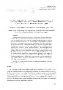 Uloga slikovnih metoda u probiru žena s povećanim rizikom za rak dojke / Boris Brkljačić, Gordana Ivanac, Renata Huzjan-Korunić, Igor Čikara