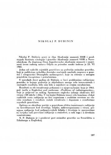Nikolaj P. Dubinin