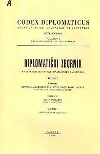 Diplomatički zbornik Kraljevine Hrvatske, Dalmacije i Slavonije. Dodaci : Codex diplomaticus Regni Croatiae, Dalmatiae et Slavoniae. Supplementa