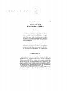 Rotationsträgheit dreidimensionaler Systeme / R. Rosman