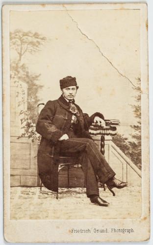 Izidor Kršnjavi kao suplent u Osijeku 1864. godine