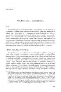 Augustinci u Zaostrogu / Nikola Radić