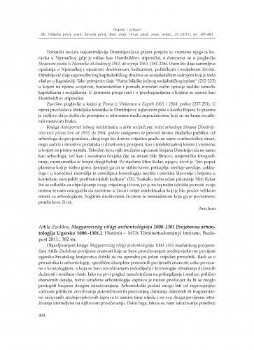 Attila Zsoldos, Magyarország világi archontológiája 1000-1301 [Svjetovna arhontologija Ugarske 1000.-1301.], História - MTA Történettudományi intézete, Budapest 2011. : [prikaz] / Damir Karbić