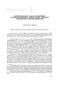 Kennzeichungen lokal-euklidischer 2-Mannigfaltigkeiten Paare metrisch gekoppelter Tschebyscheffnetze / R. Koch