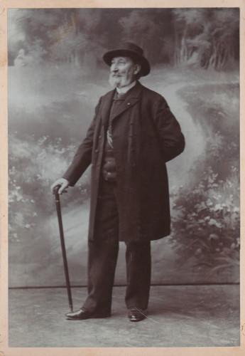 Ivan Zajc - portret predložak za spomenik Roberta Frangeša Mihanovića