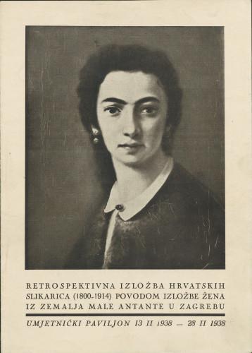 Retrospektivna izložba hrvatskih slikarica (1800-1914) povodom Izložbe žena iz zemalja Male Antante u Zagrebu