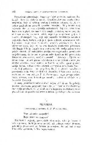 Svečana sjednica Jugoslavenske akademije znanosti i umjetnosti dne 9. studenoga 1884. prigodom otvorenja Strossmayerove galerije. : 2. Besjeda pokrovitelja J. J. Strossmayera / J. J. Strossmayer