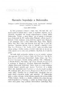 Slavensko bogoslužje u Dubrovniku / A. Liepopili