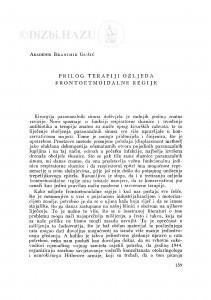Prilog terapiji ozljeda frontoetmoidalne regije / B. Gušić