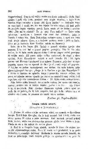 Snaga nekih stvari : (Gospić u Hrvatskoj.) / M. Biljan