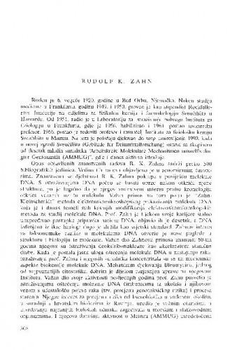 Rudolf K. Zahn