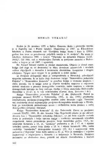 Nenad Vekarić